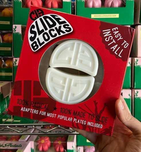 Rollerskate Slide Blocks