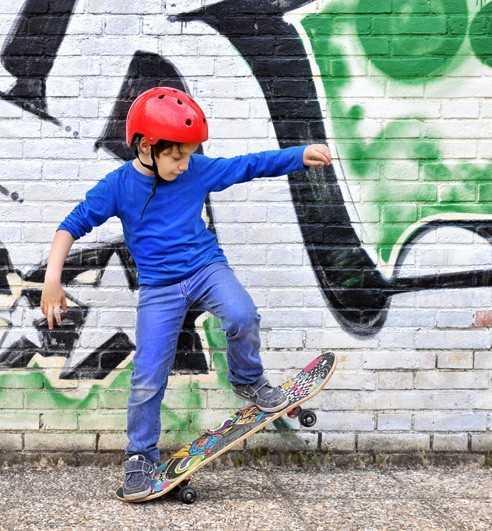 Kids Skateboard completes