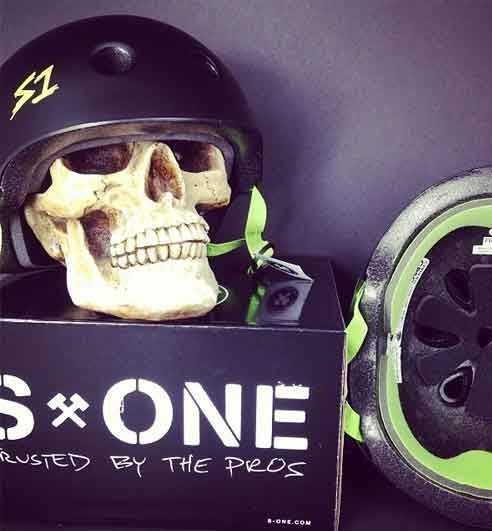 Skateboarding helmets